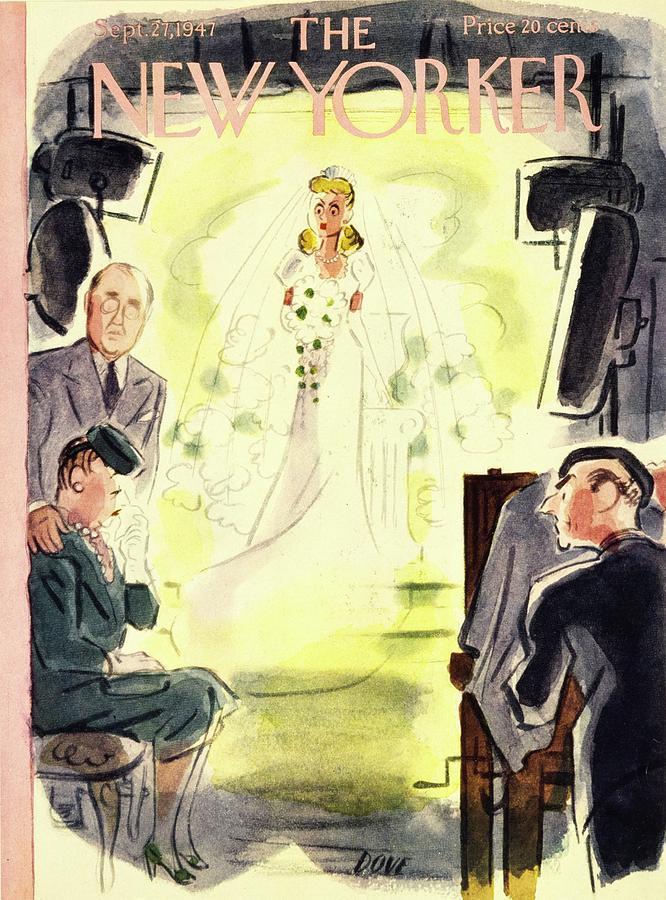 New Yorker September 27, 1947 Painting by Leonard Dove