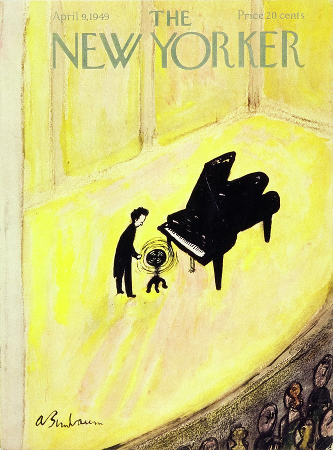 Theater Painting - New Yorker April 9, 1949 by Aaron Birnbaum