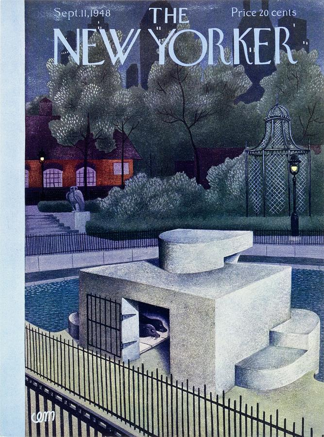 New Yorker September 11, 1948 Painting by Charles E Martin