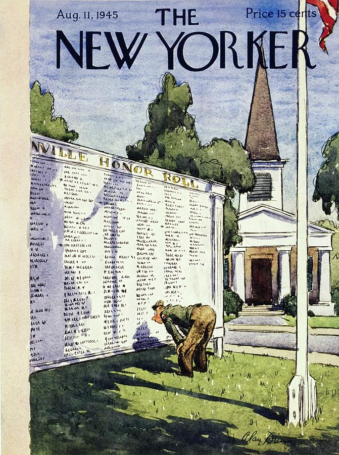New Yorker August 11, 1945 Painting by Alan Dunn