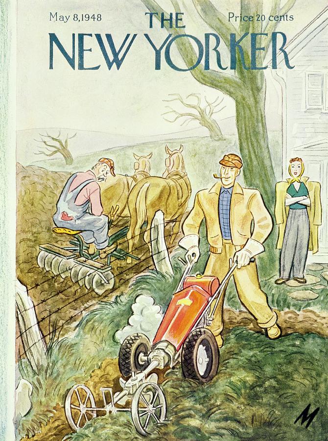 New Yorker May 8, 1948 Painting by Julian De Miskey