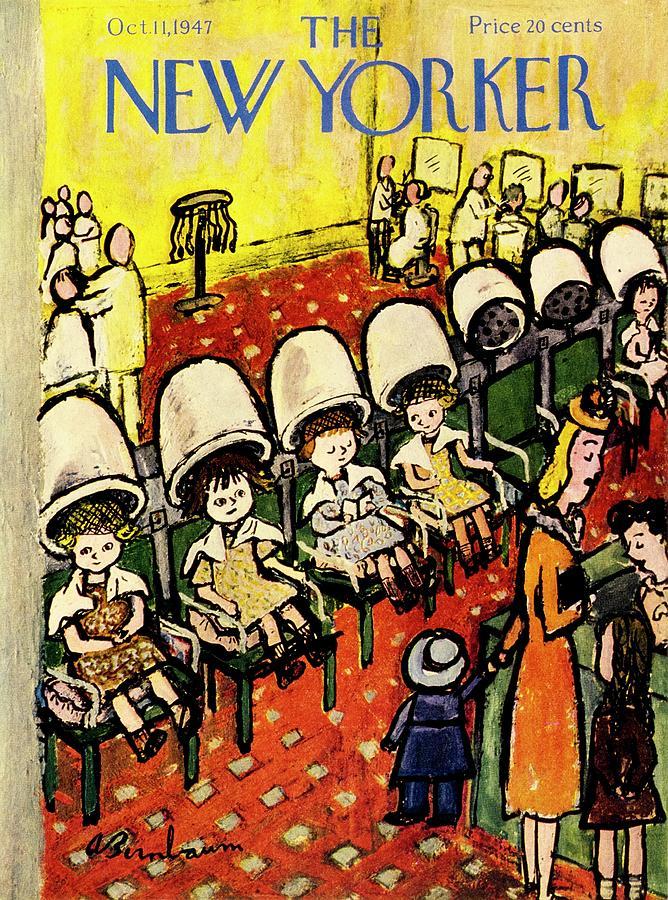 New Yorker October 11, 1947 Painting by Aaron Birnbaum