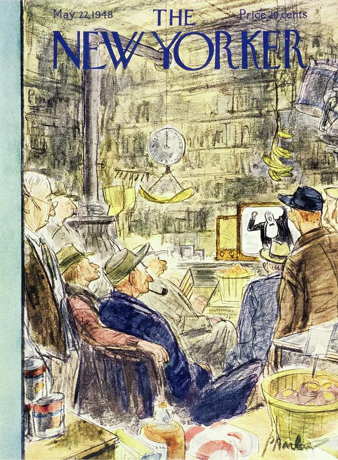 New Yorker May 22, 1948 Painting by Perry Barlow