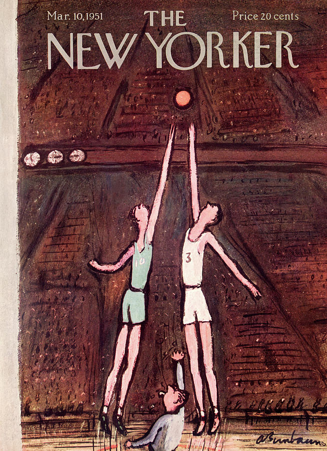 New Yorker March 10th, 1951 Painting by Abe Birnbaum
