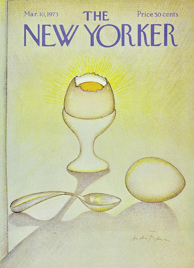 New Yorker March 10th 1973 Painting by Andre Francois
