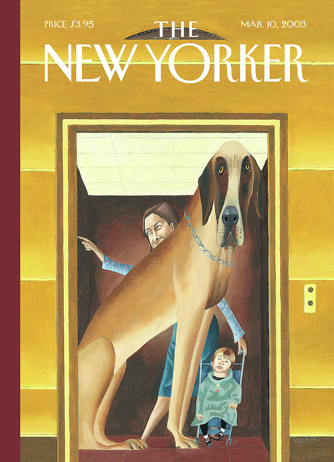 New Yorker March 10th, 2003 Painting by Mark Ulriksen