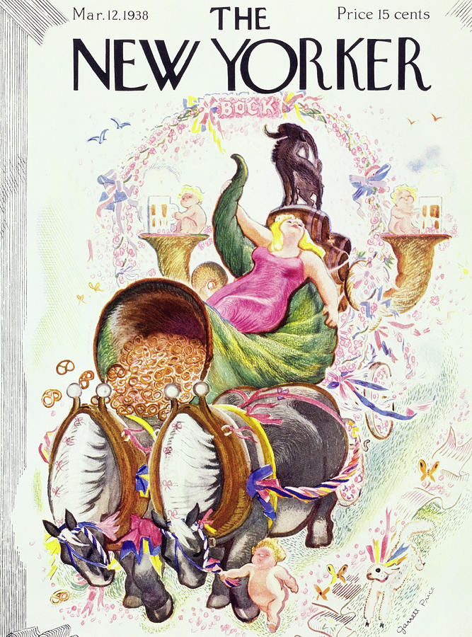 New Yorker March 12 1938 Painting by Garrett Price