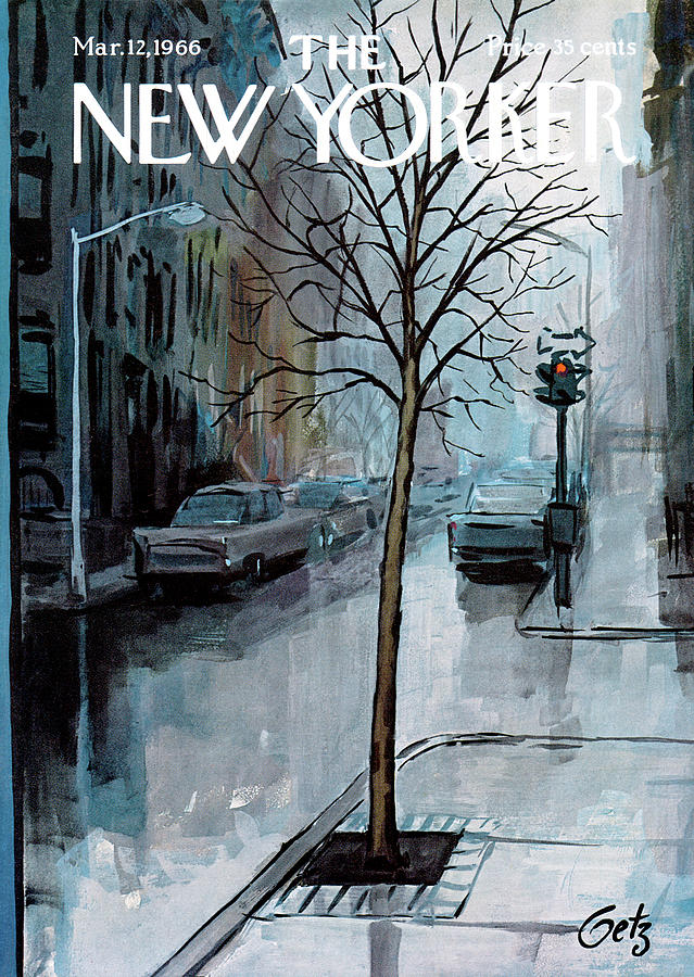 New Yorker March 12th, 1966 Painting by Arthur Getz
