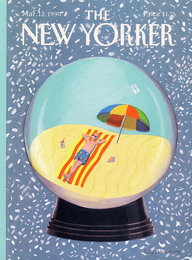New Yorker March 12th, 1990 Painting by Kathy Osborn