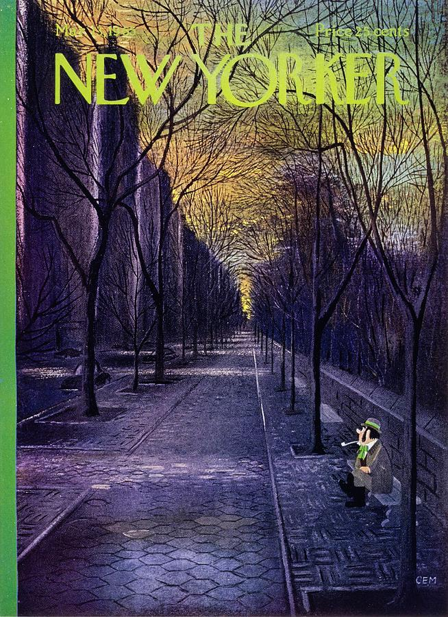New Yorker March 13th 1965 Painting by Charles E Martin