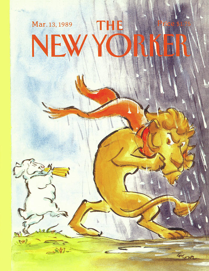 New Yorker March 13th, 1989 Painting by Lee Lorenz