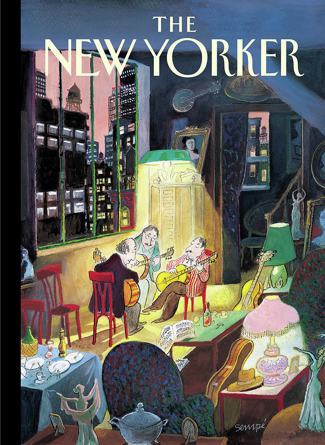 New Yorker March 13th, 2006 Painting by Jean-Jacques Sempe