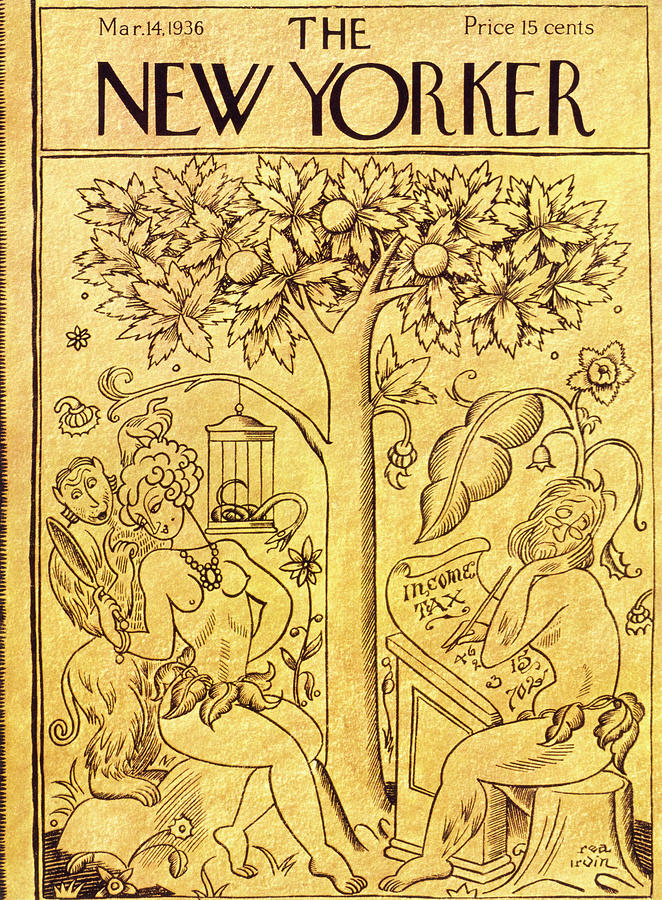 New Yorker March 14 1936 Painting by Rea Irvin
