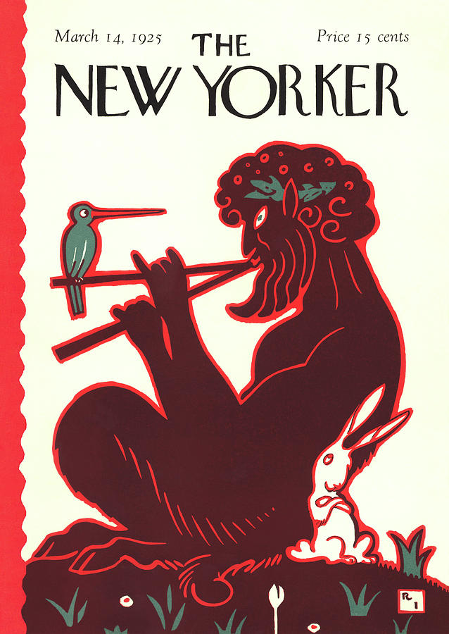 New Yorker March 14th, 1925 Painting by Rea Irvin