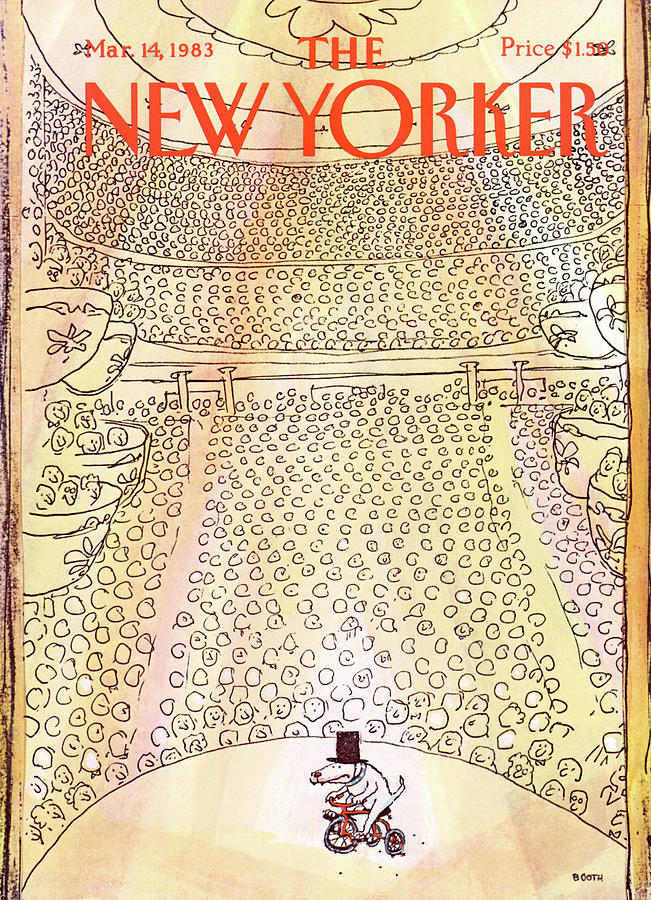 New Yorker March 14th, 1983 Painting by George Booth