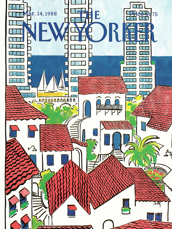 New Yorker March 14th, 1988 Painting by Arthur Getz