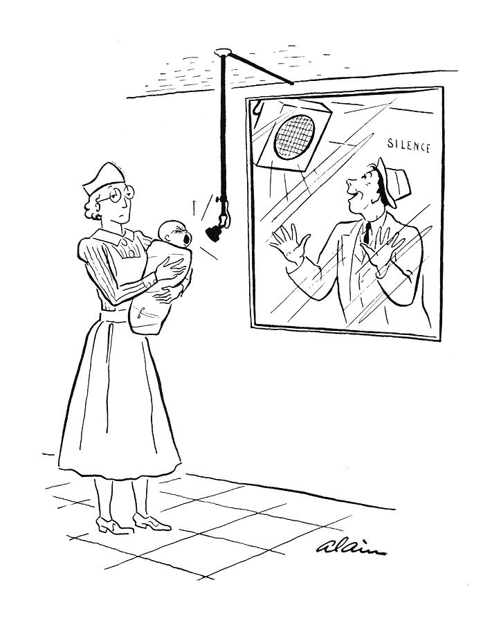 New Yorker March 15th, 1941 Drawing by  Alain