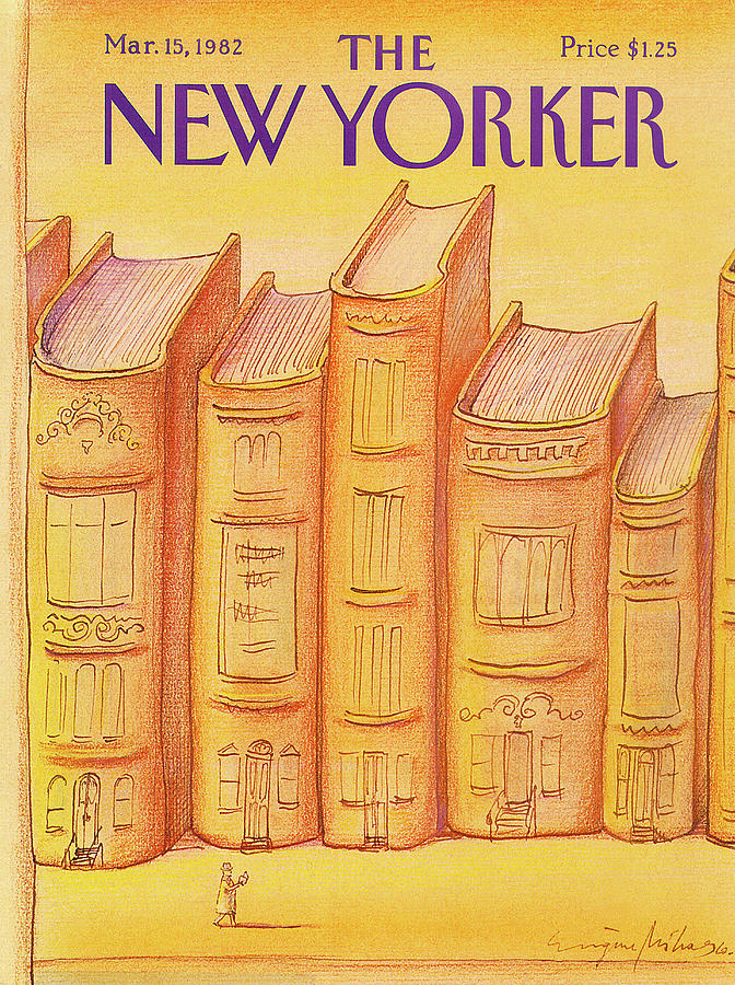 New Yorker March 15th, 1982 Painting by Eugene Mihaesco