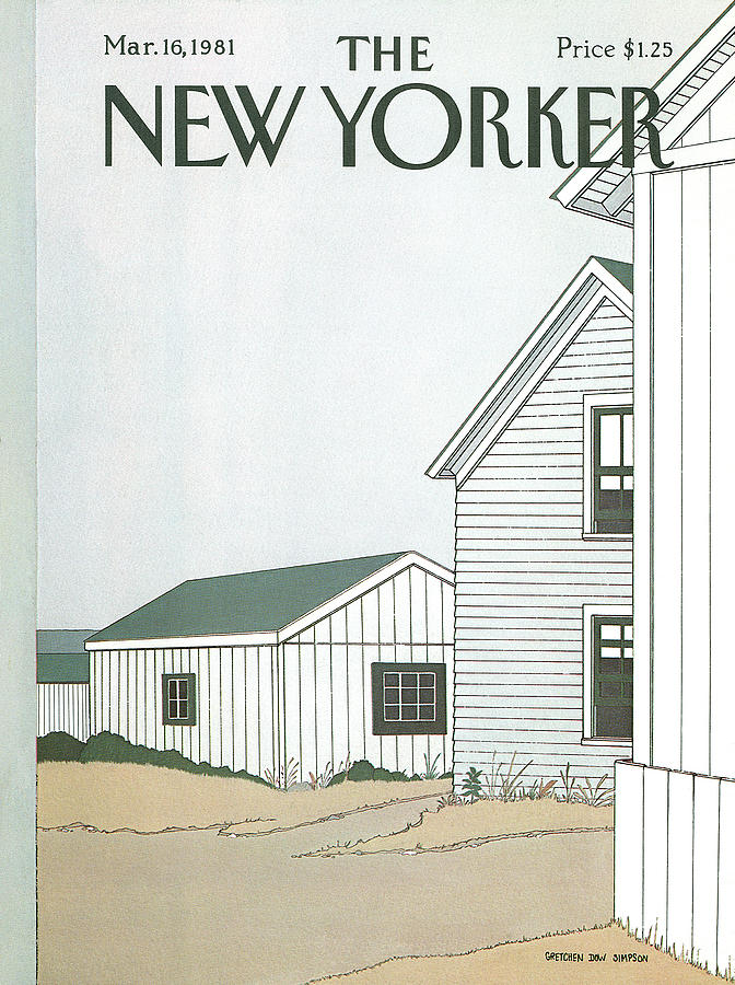 New Yorker March 16th, 1981 Painting by Gretchen Dow Simpson