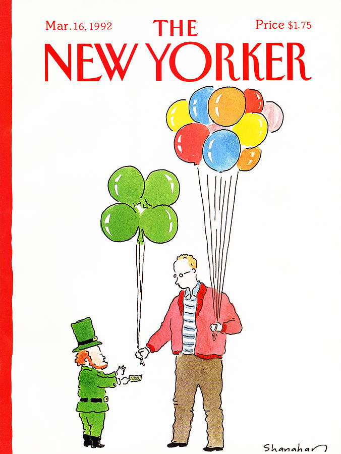 New Yorker March 16th, 1992 Painting by Danny Shanahan