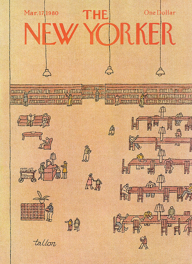New Yorker March 17th, 1980 Painting by Robert Tallon