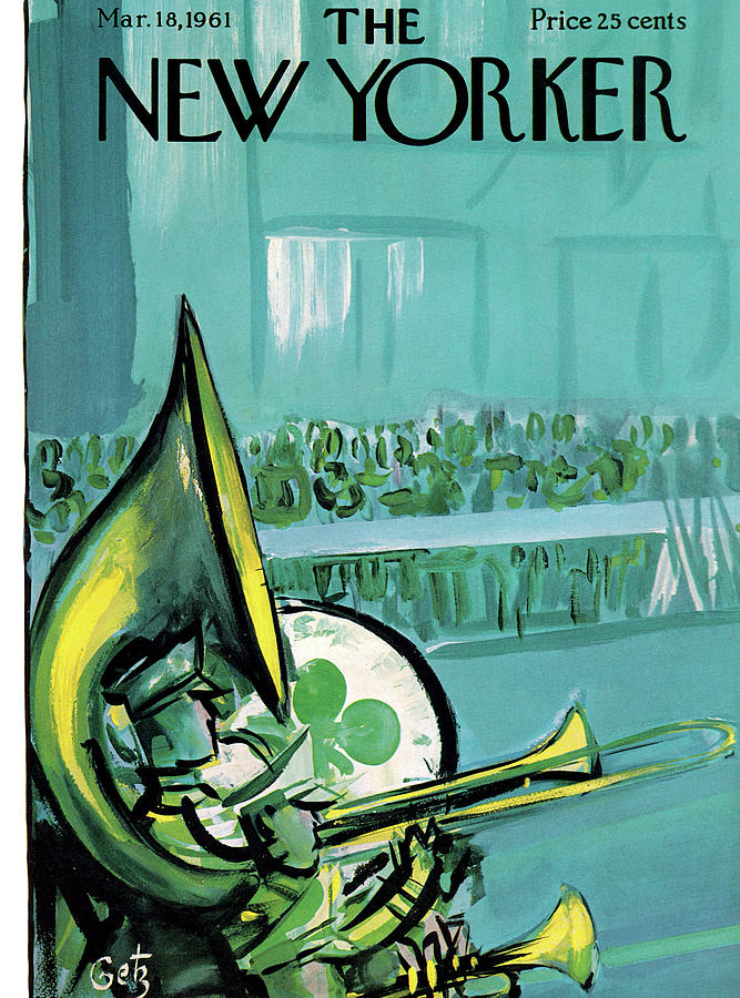 New Yorker March 18th, 1961 Painting by Arthur Getz