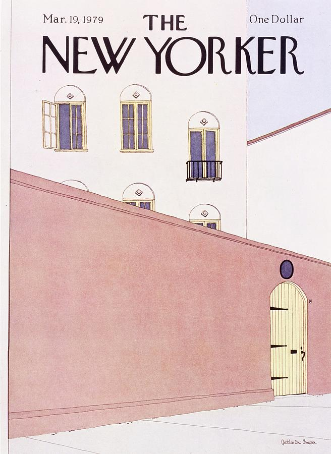 New Yorker March 19th 1979 Painting by Gretchen Dow Simpson