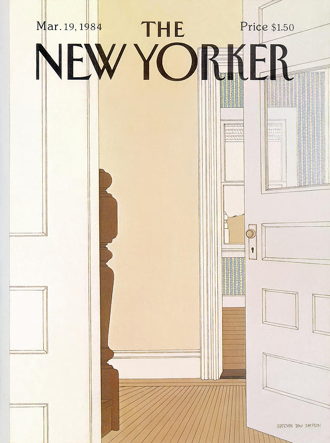 New Yorker March 19th, 1984 Painting by Gretchen Dow Simpson