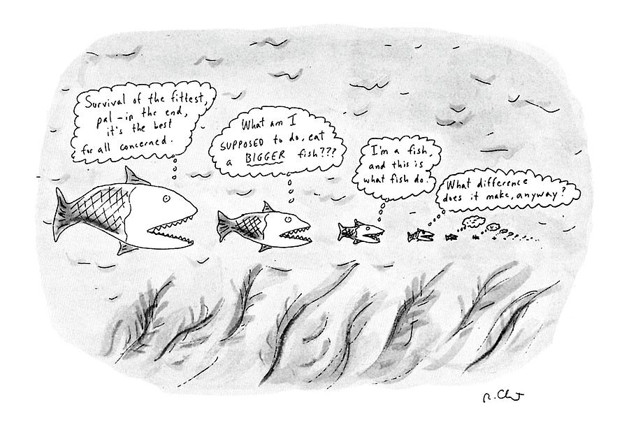 New Yorker March 19th, 1990 Drawing by Roz Chast