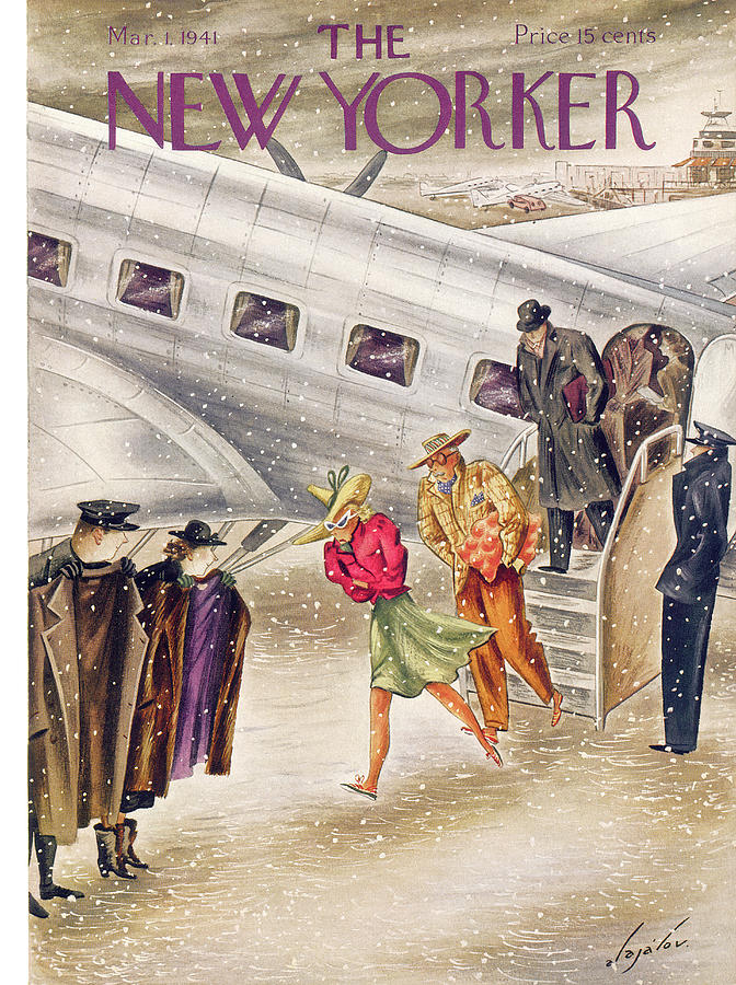 New Yorker March 1, 1941 Painting by Constantin Alajalov