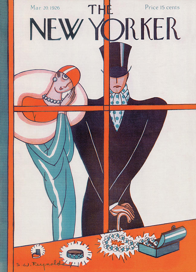 New Yorker March 20th, 1926 Painting by Stanley W Reynolds
