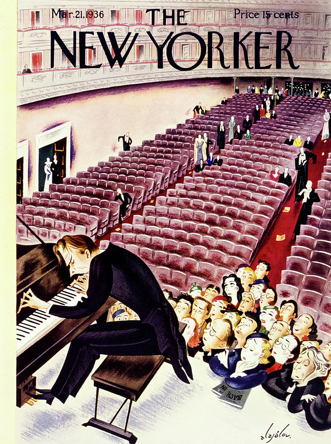 New Yorker March 21 1936 Painting by Constantin Alajalov