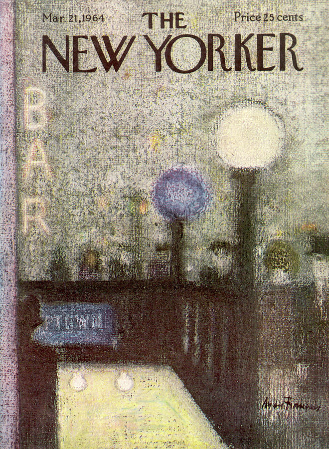 New Yorker March 21st, 1964 Painting by Andre Francois