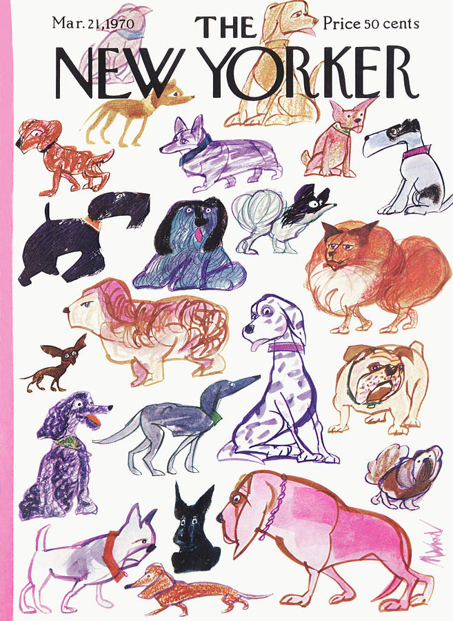 New Yorker March 21st, 1970 Painting by Kenneth Mahood