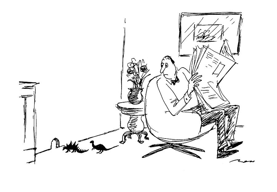 New Yorker March 21st, 1994 Drawing by Al Ross