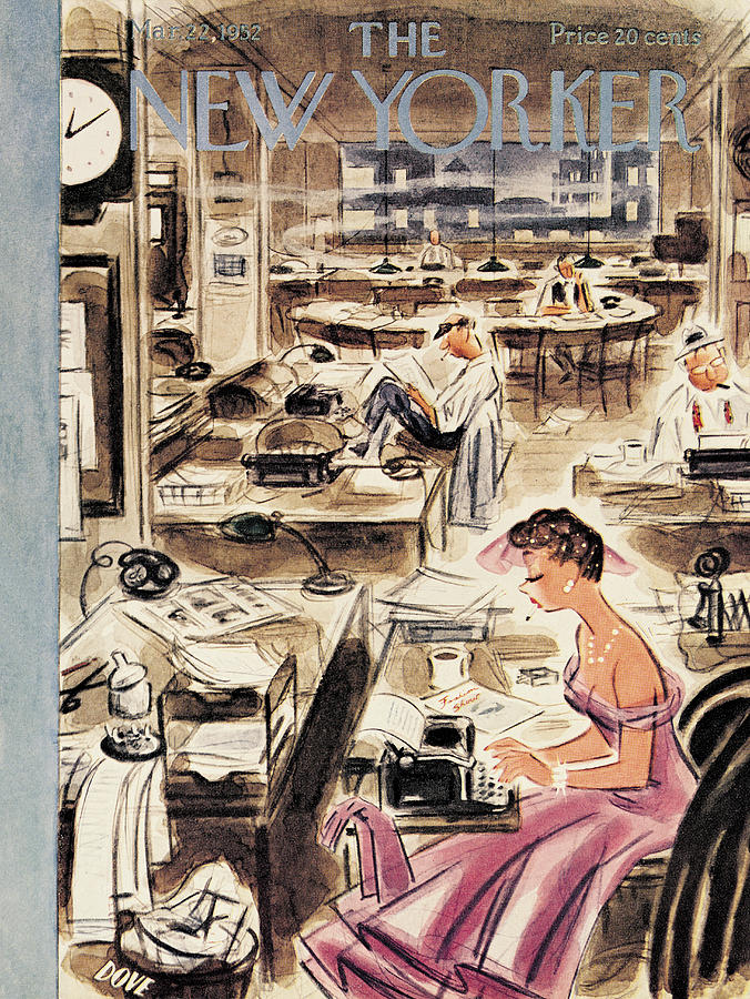 New Yorker March 22nd, 1952 Painting by Leonard Dove