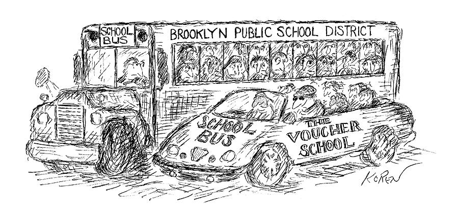 New Yorker March 22nd, 1999 Drawing by Edward Koren