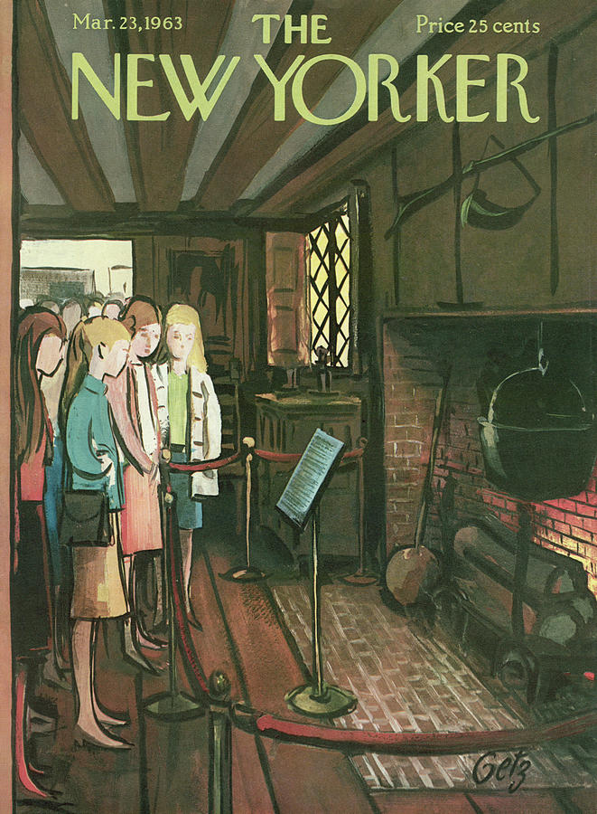 New Yorker March 23rd, 1963 Painting by Arthur Getz
