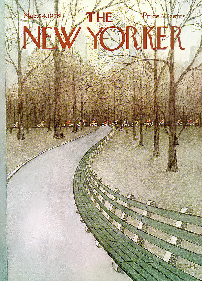 New Yorker March 24th, 1975 Painting by Charles E Martin