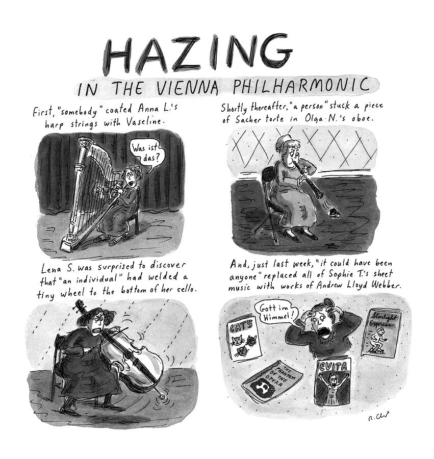 New Yorker March 24th, 1997 Drawing by Roz Chast