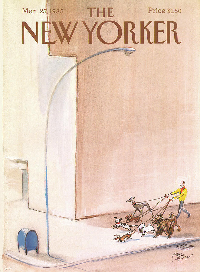 New Yorker March 25th, 1985 Painting by Paul Degen