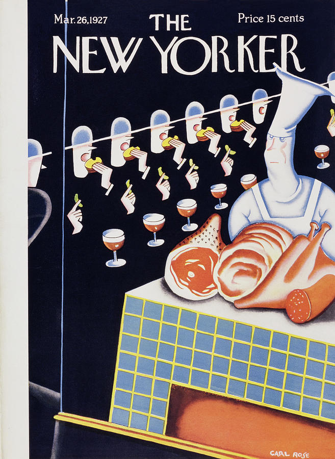 New Yorker March 26 1927 Painting by Carl Rose