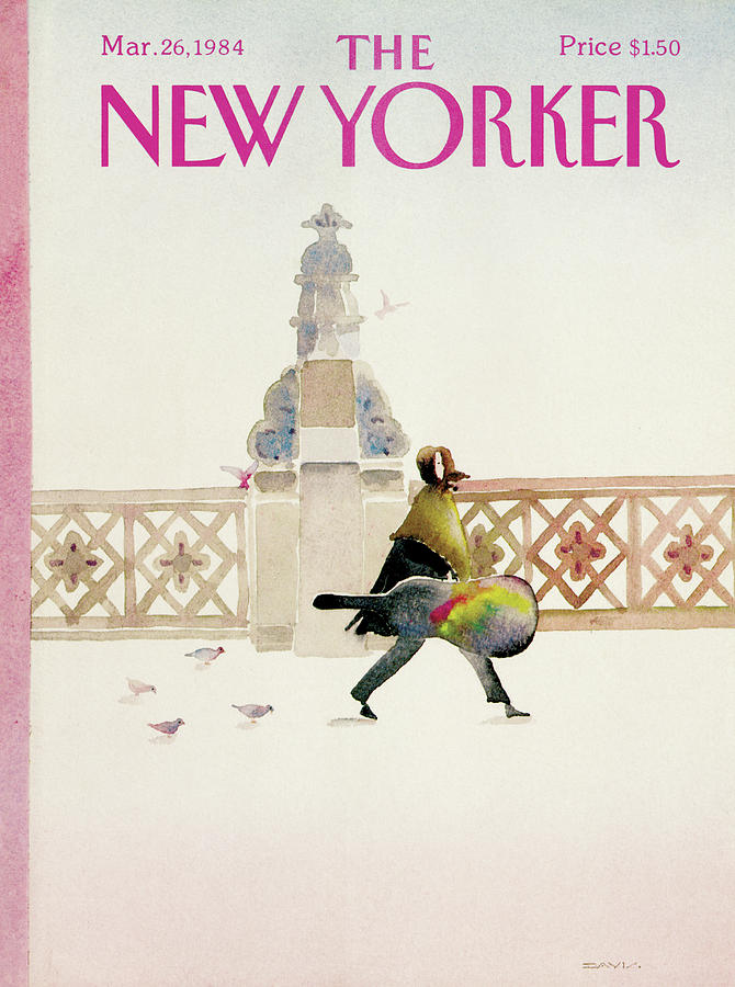 New Yorker March 26th, 1984 Painting by Susan Davis