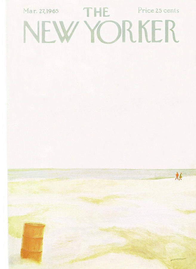 New Yorker March 27th, 1965 Painting by James Stevenson