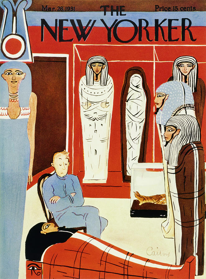 New Yorker March 28 1931 Painting by Ruth Cairns