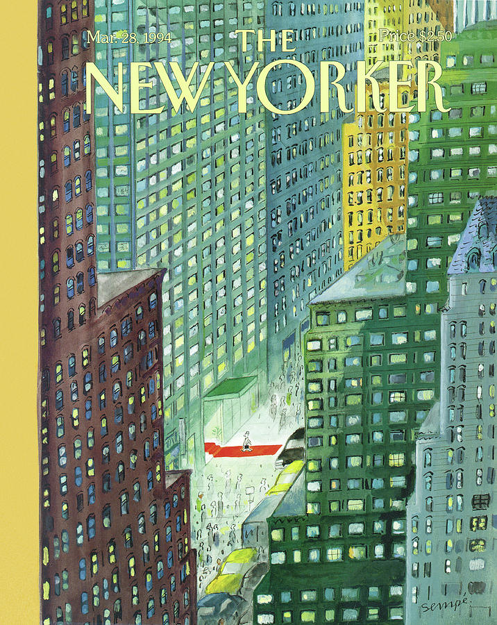 New Yorker March 28th, 1994 Painting by Jean-Jacques Sempe