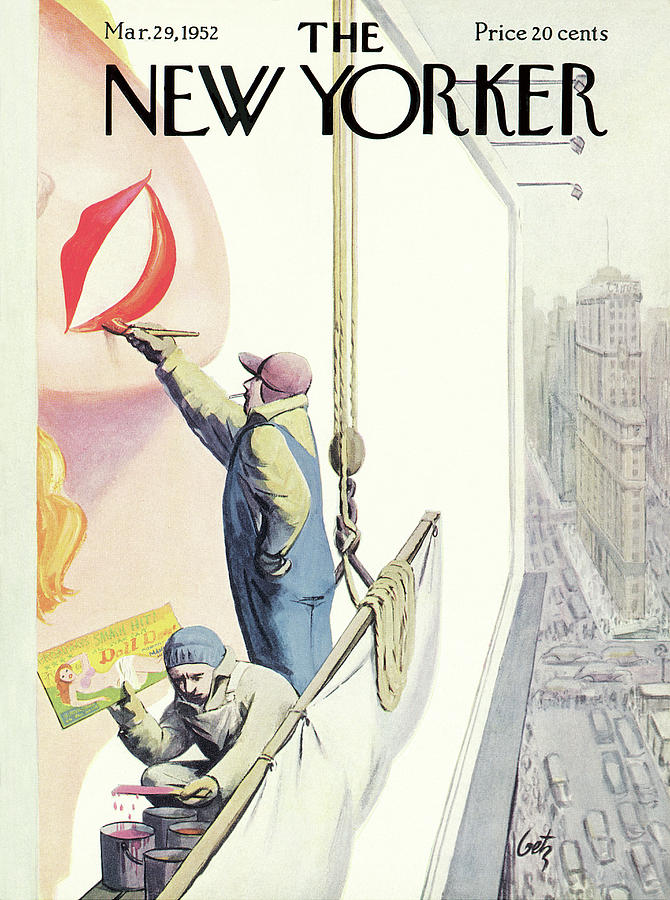 aa4d15f27 New Yorker March 29th, 1952 Painting by Arthur Getz