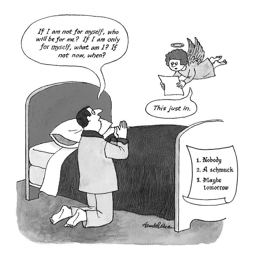 New Yorker March 29th, 1999 Drawing by J.B. Handelsman
