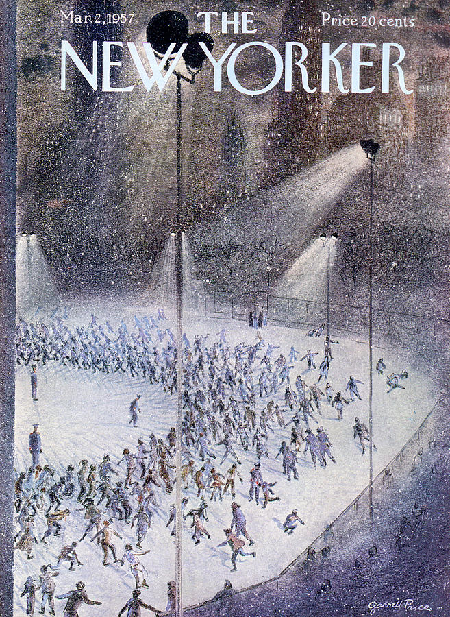 New Yorker March 2nd, 1957 Painting by Garrett Price