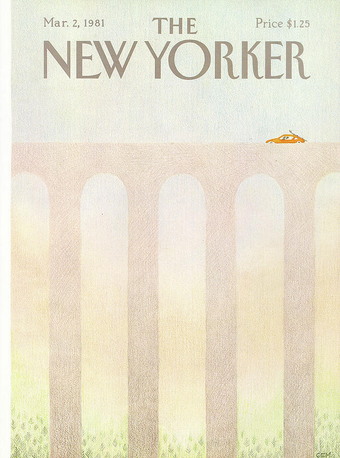 New Yorker March 2nd, 1981 Painting by Charles E Martin